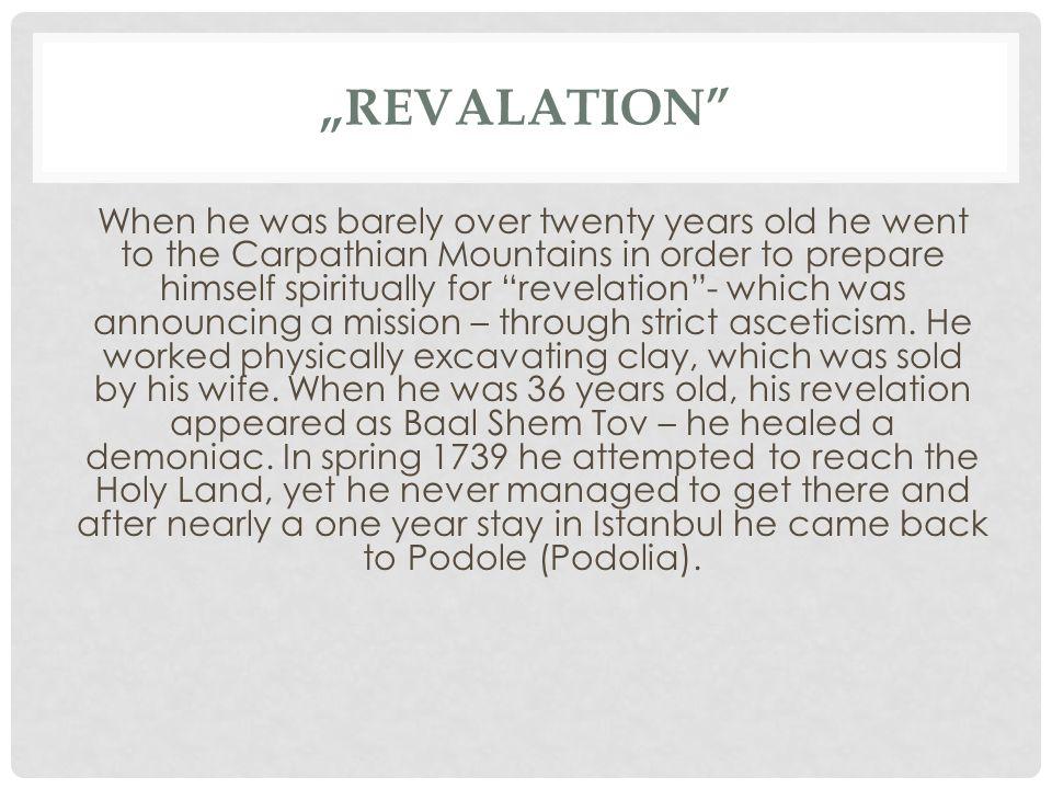 """REVALATION"