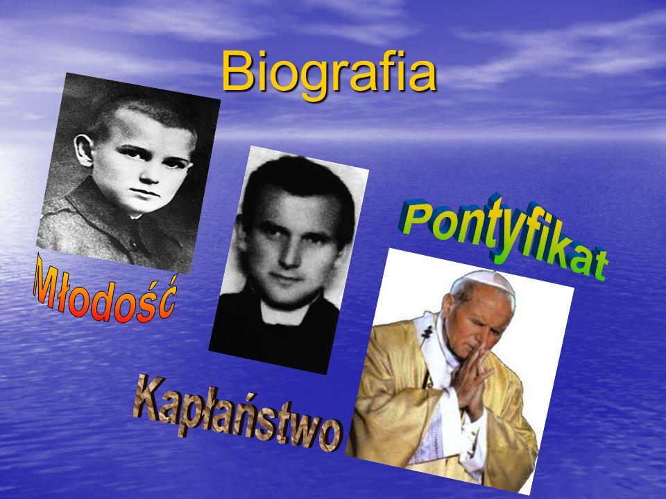 Biografia Pontyfikat Młodość Kapłaństwo