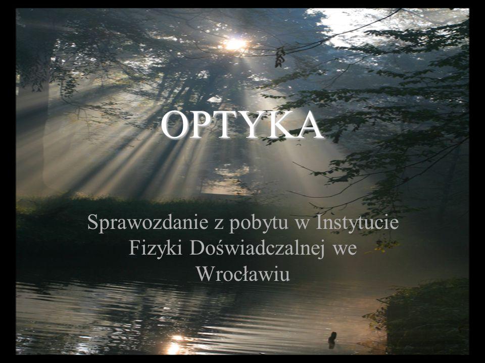 Sprawozdanie z pobytu w Instytucie Fizyki Doświadczalnej we Wrocławiu