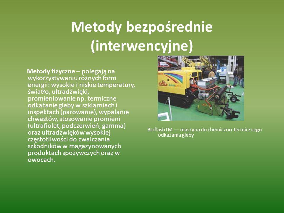 Metody bezpośrednie (interwencyjne)