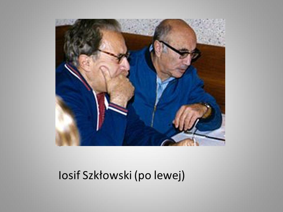 I Iosif Szkłowski (po lewej)