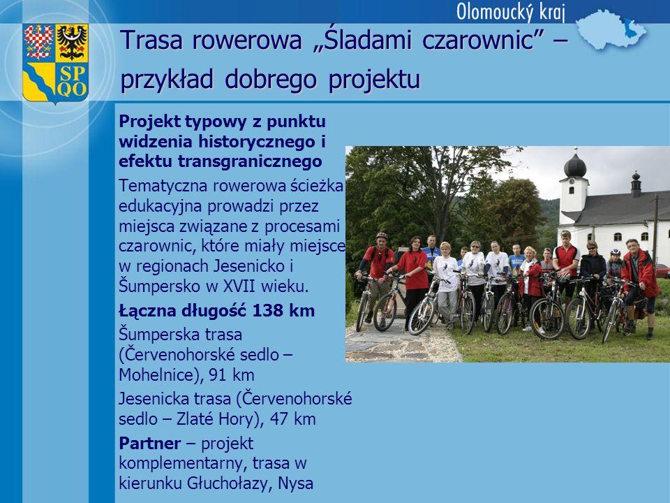 """Trasa rowerowa """"Śladami czarownic – przykład dobrego projektu"""