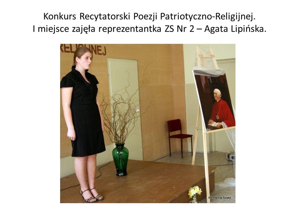 Konkurs Recytatorski Poezji Patriotyczno-Religijnej