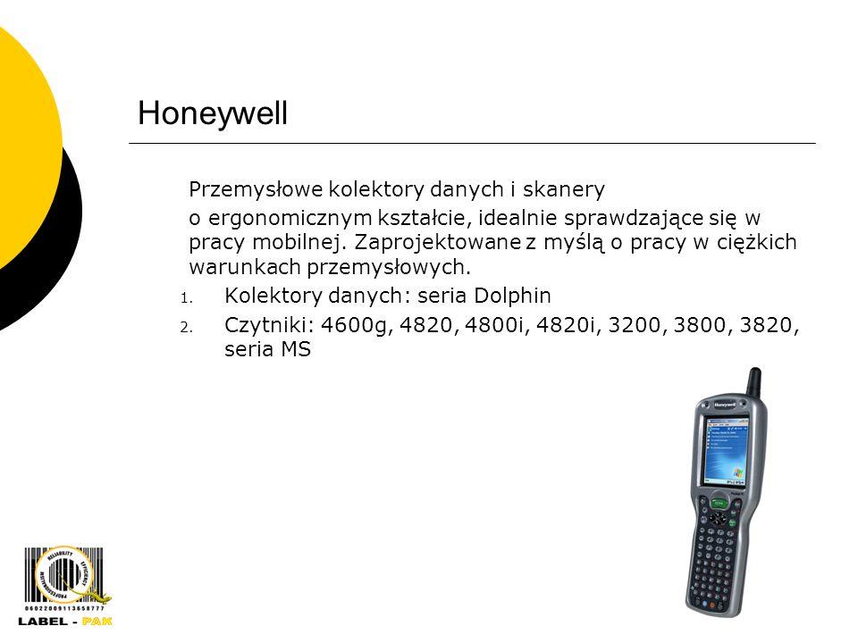 Honeywell Przemysłowe kolektory danych i skanery