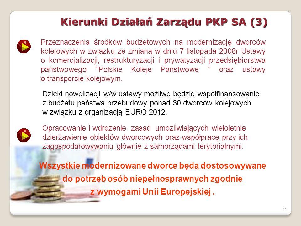 Kierunki Działań Zarządu PKP SA (3)