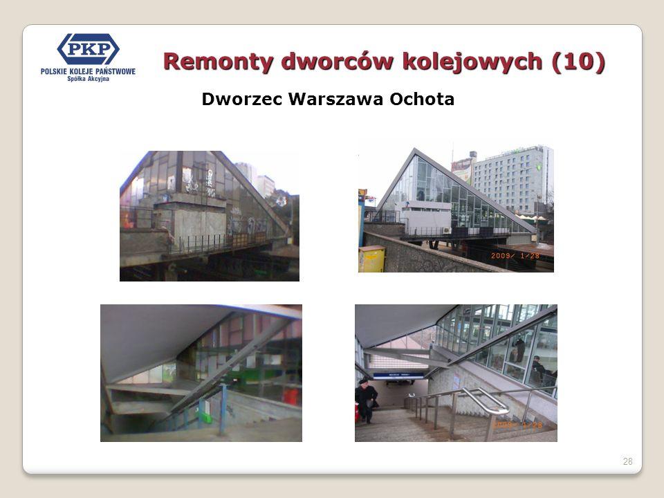 Dworzec Warszawa Ochota
