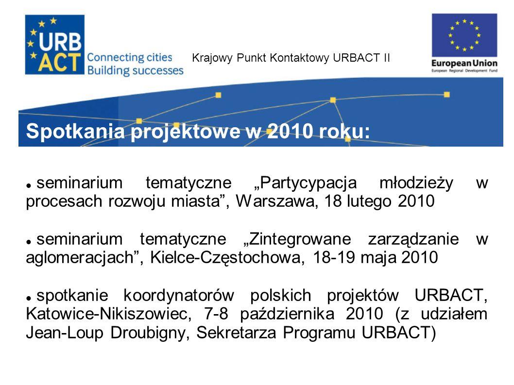 Krajowy Punkt Kontaktowy URBACT II