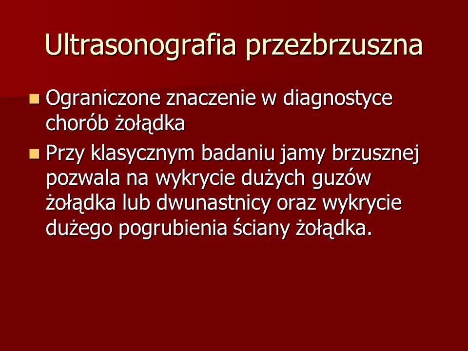 Ultrasonografia przezbrzuszna