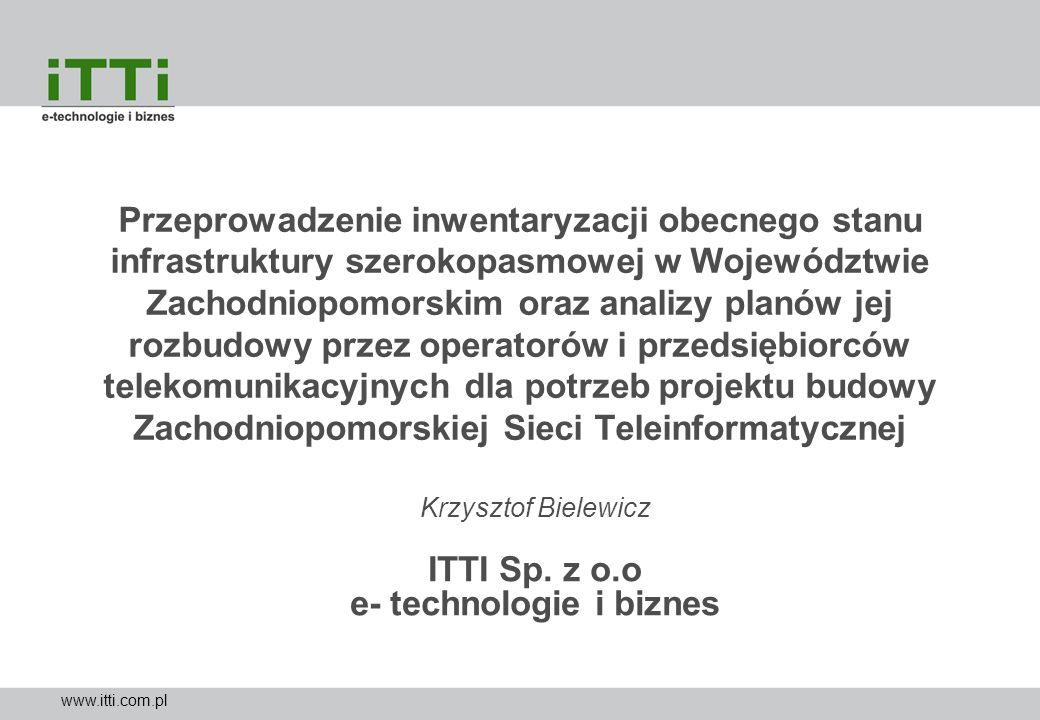 Krzysztof Bielewicz ITTI Sp. z o.o e- technologie i biznes