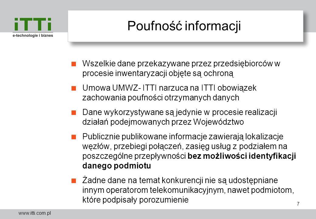 Poufność informacji Wszelkie dane przekazywane przez przedsiębiorców w procesie inwentaryzacji objęte są ochroną.