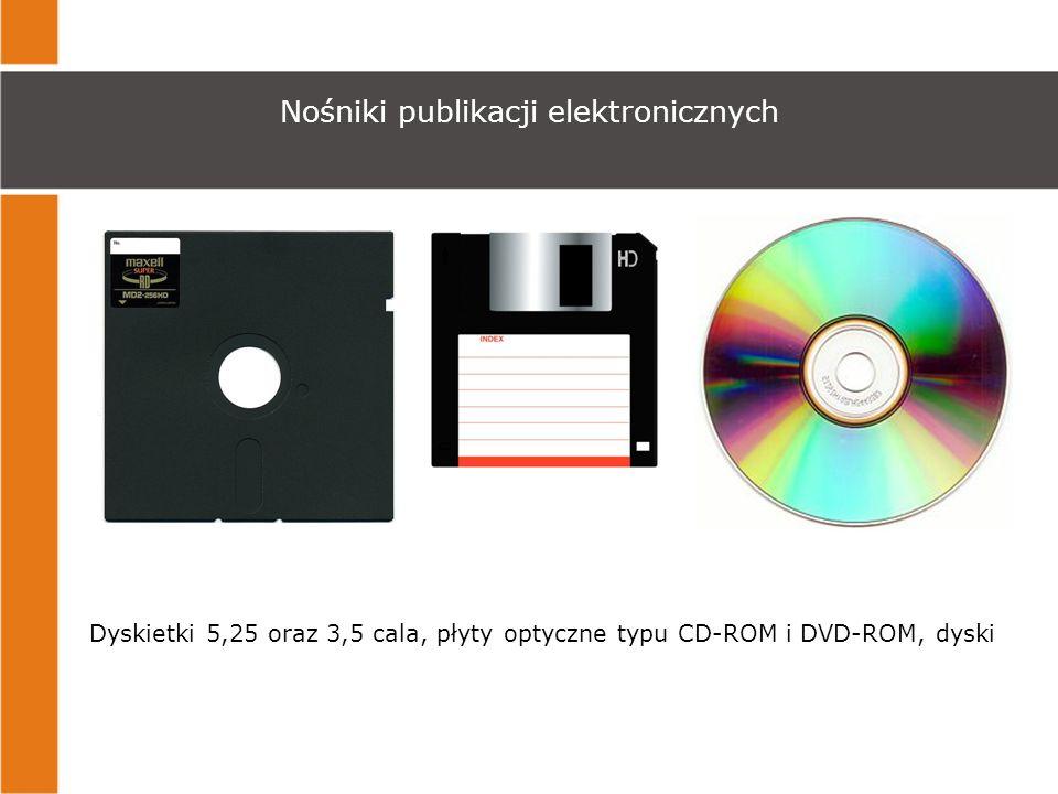 Nośniki publikacji elektronicznych