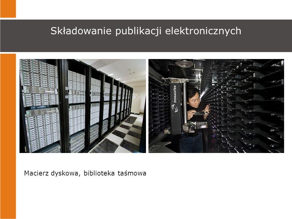 Składowanie publikacji elektronicznych