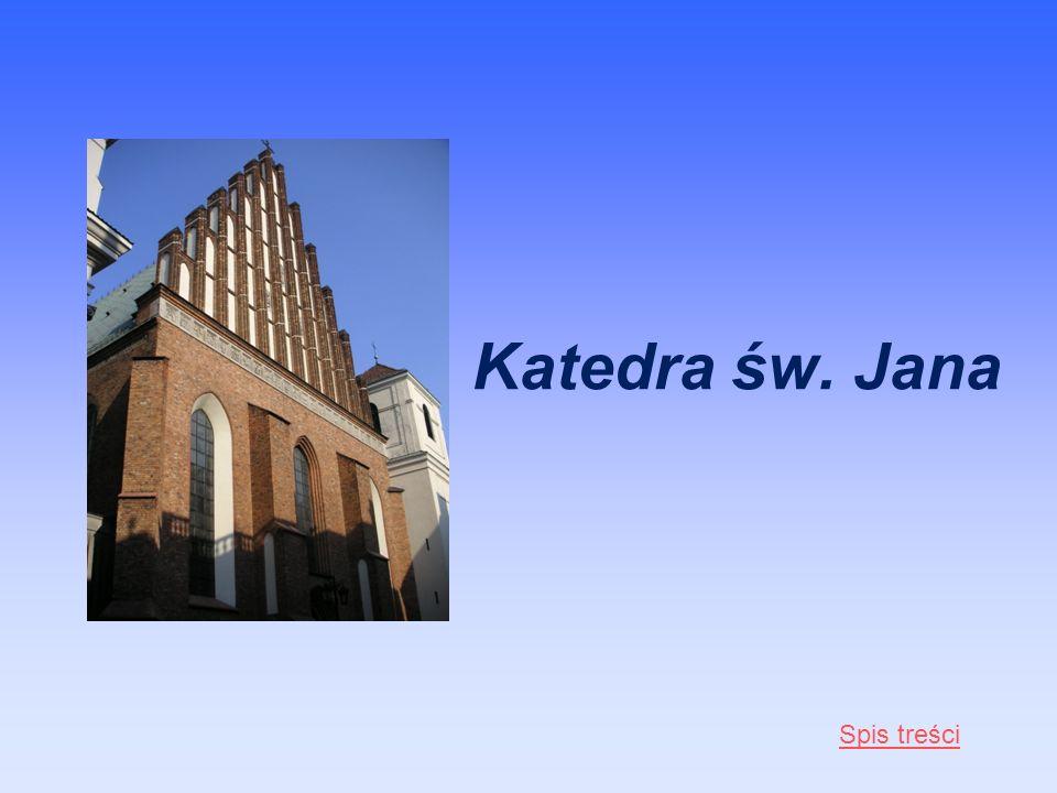 Katedra św. Jana Spis treści