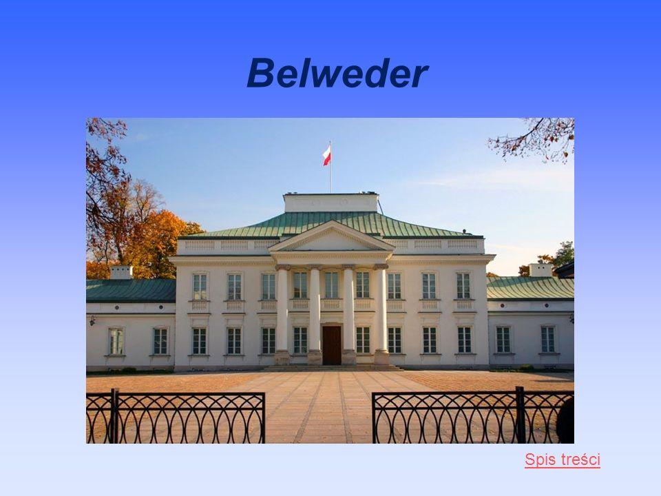 Belweder Spis treści