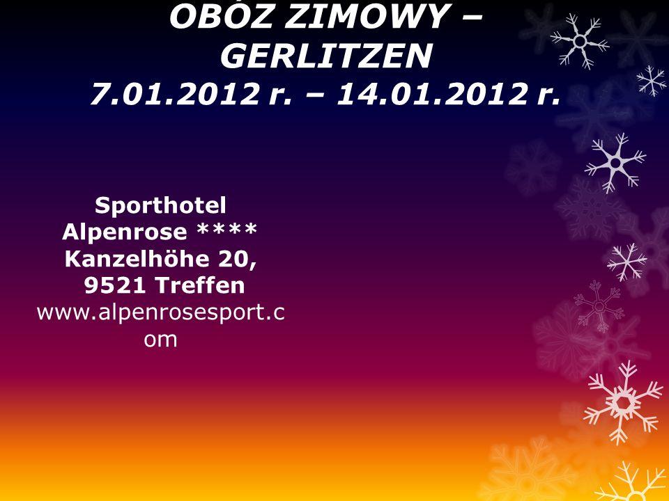 OBÓZ ZIMOWY – GERLITZEN 7.01.2012 r. – 14.01.2012 r.
