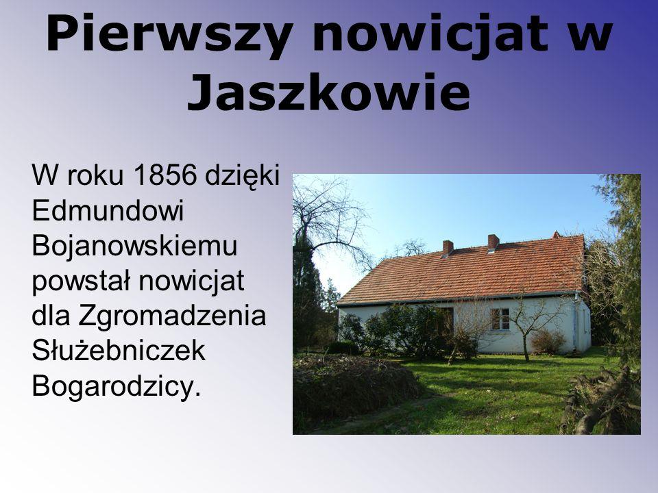 Pierwszy nowicjat w Jaszkowie