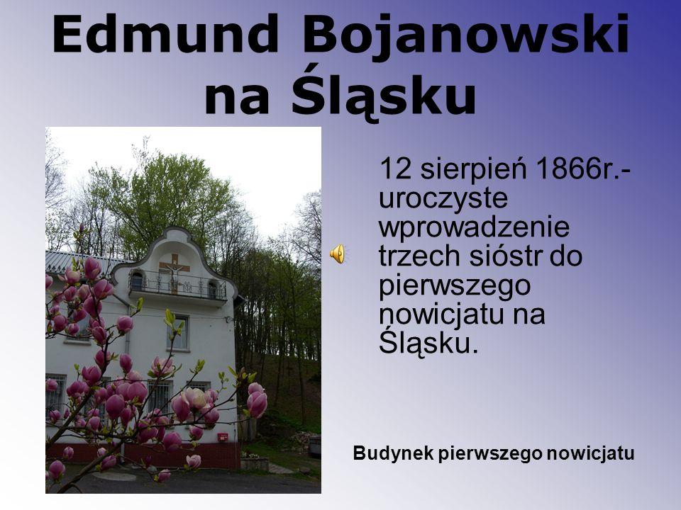 Edmund Bojanowski na Śląsku