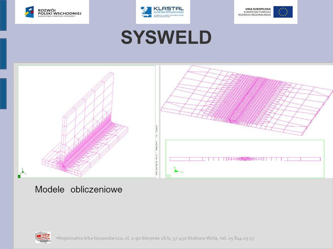 SYSWELD Modele obliczeniowe .