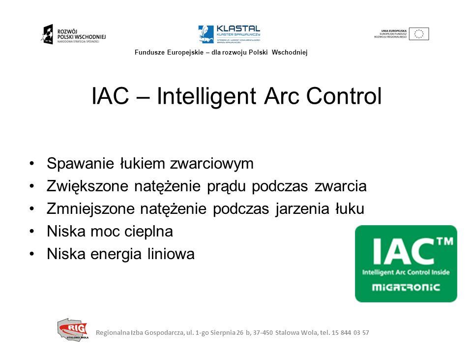 IAC – Intelligent Arc Control