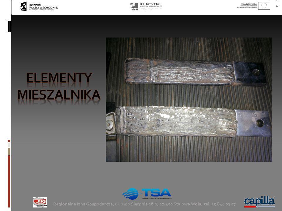 Elementy mieszalnika Regionalna Izba Gospodarcza, ul.