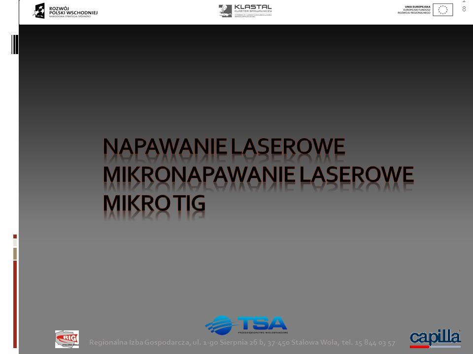 Mikronapawanie laserowe Mikro Tig