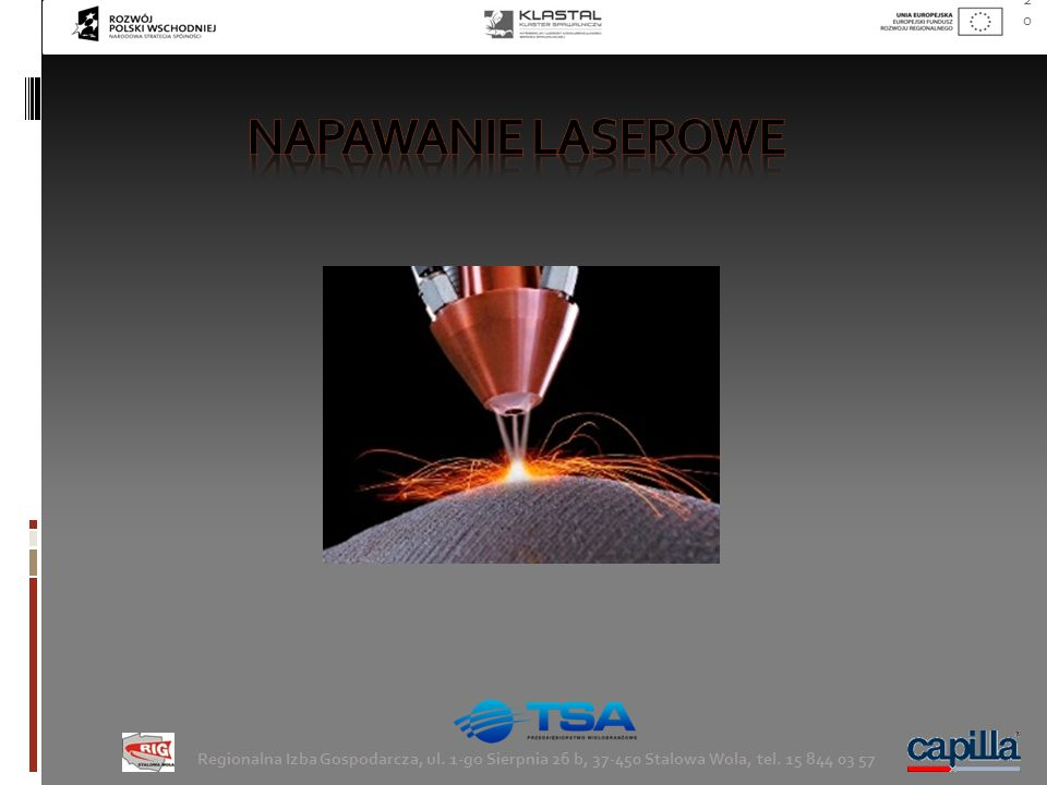 napawanie laserowe Regionalna Izba Gospodarcza, ul.