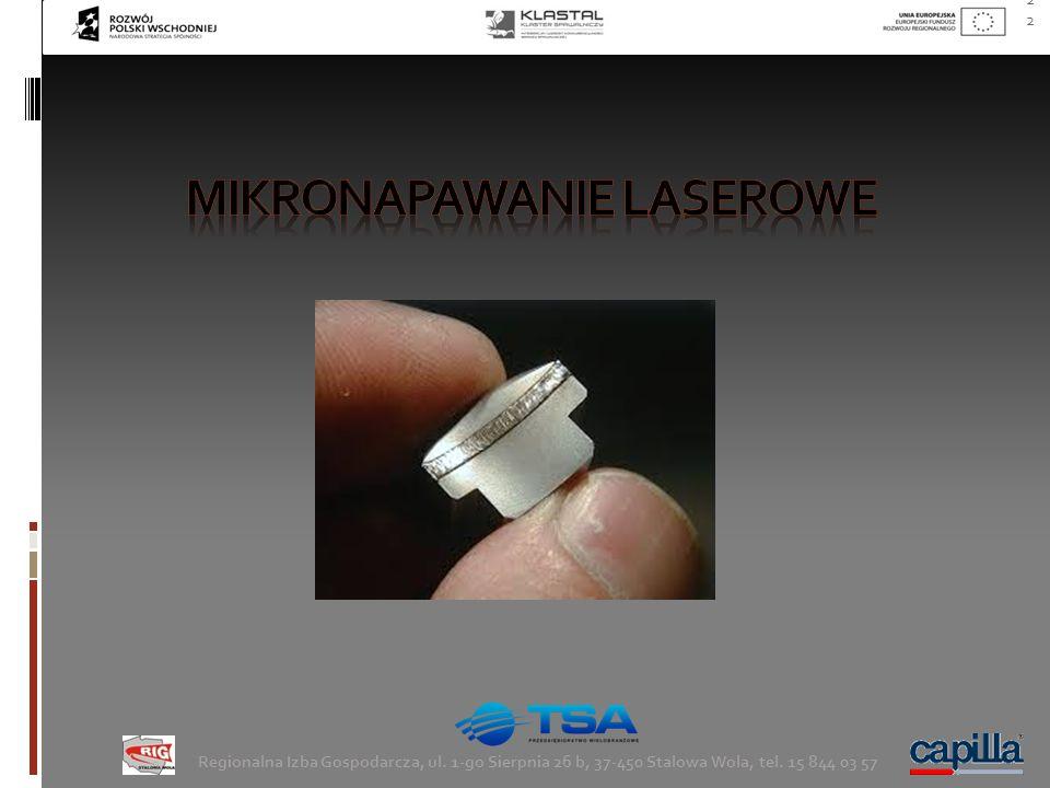 mikronapawanie laserowe