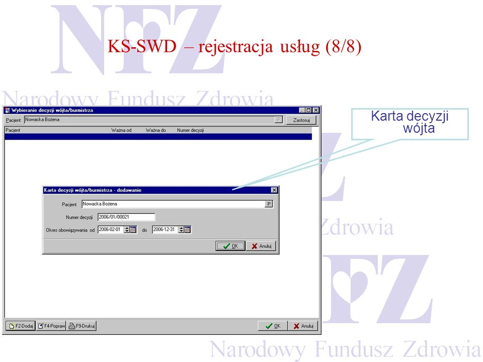 KS-SWD – rejestracja usług (8/8)