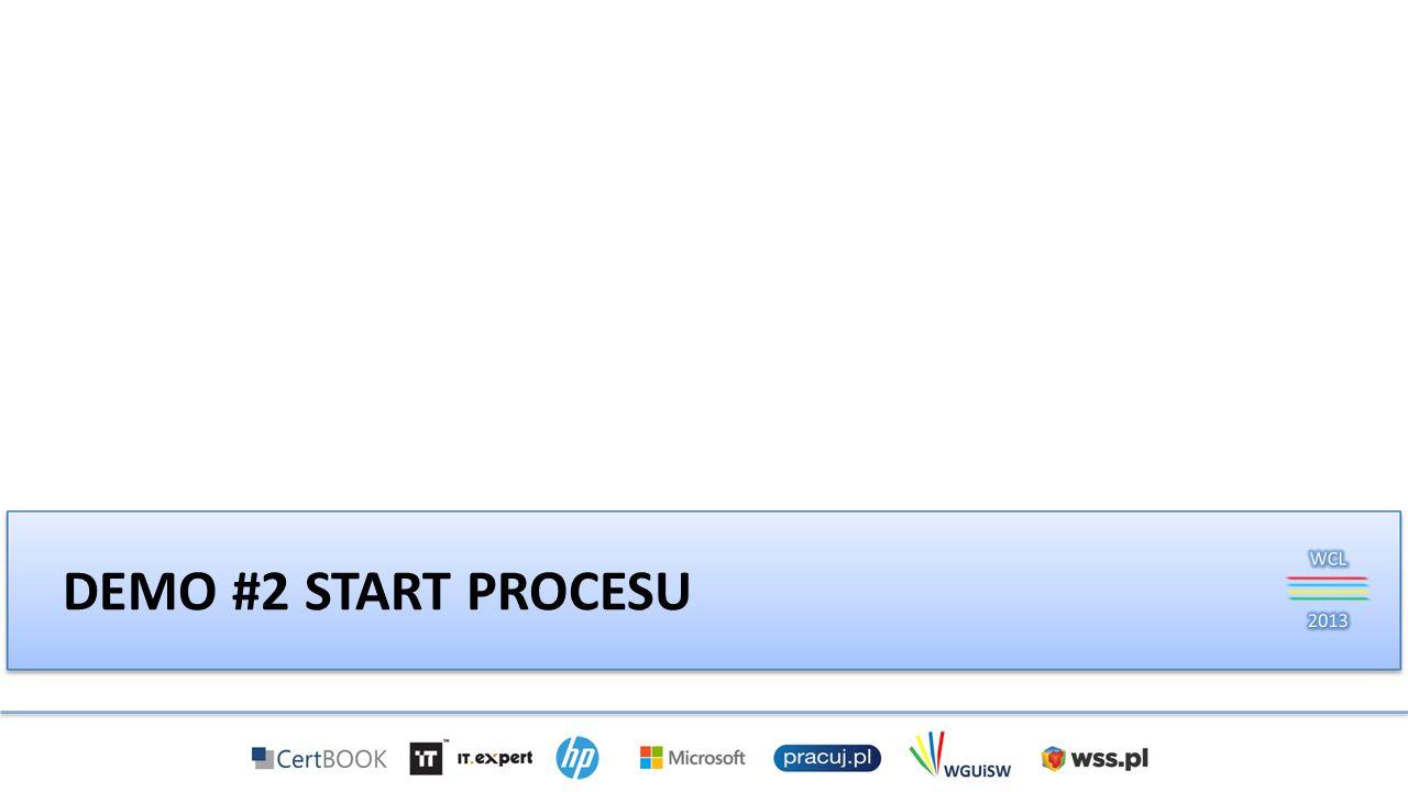 Demo #2 Start procesu