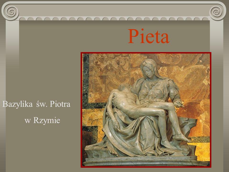 Pieta Bazylika św. Piotra w Rzymie