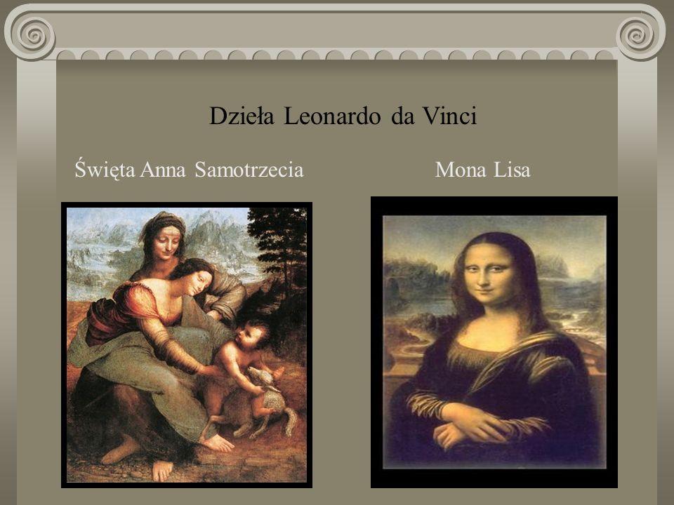 Dzieła Leonardo da Vinci