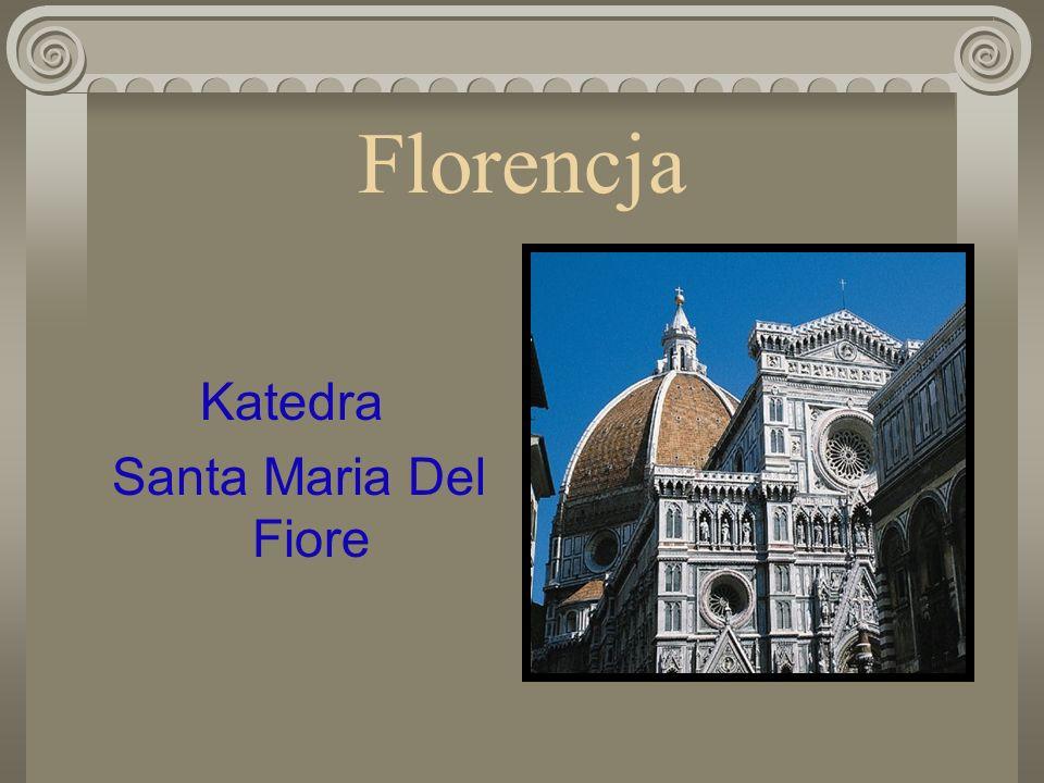 Florencja Katedra Santa Maria Del Fiore