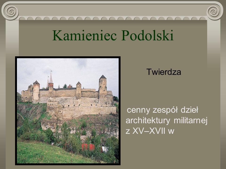 Kamieniec Podolski Twierdza