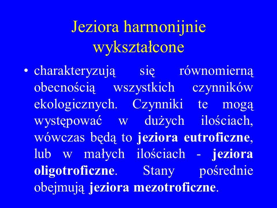 Jeziora harmonijnie wykształcone