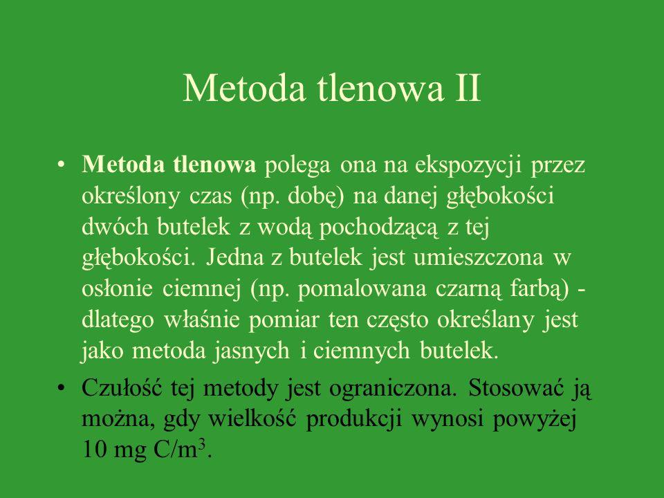 Metoda tlenowa II