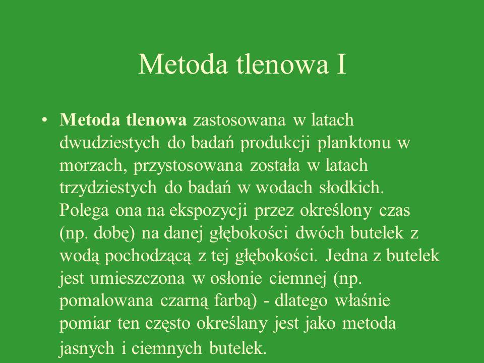 Metoda tlenowa I