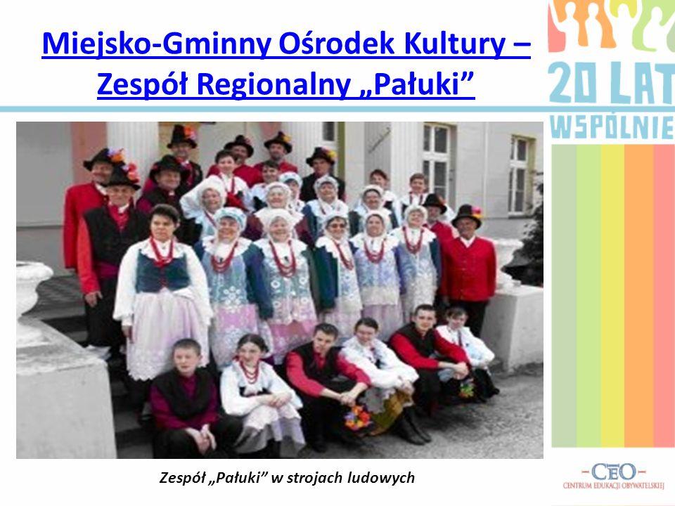 """Miejsko-Gminny Ośrodek Kultury – Zespół Regionalny """"Pałuki"""