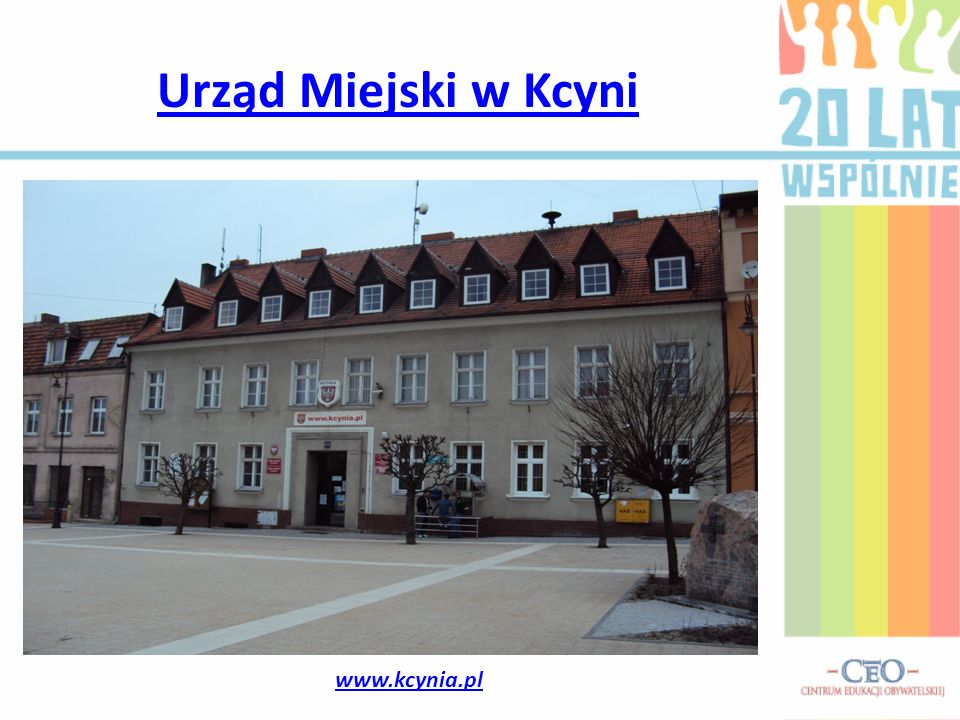 Urząd Miejski w Kcyni www.kcynia.pl