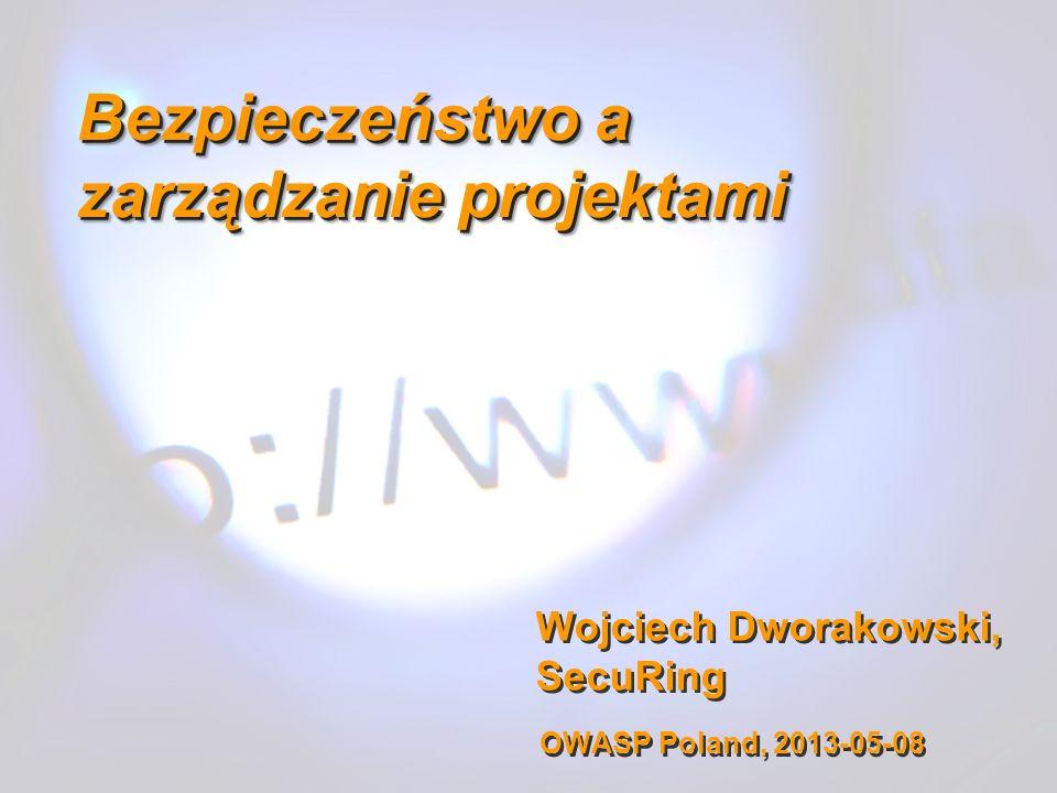 Bezpieczeństwo a zarządzanie projektami
