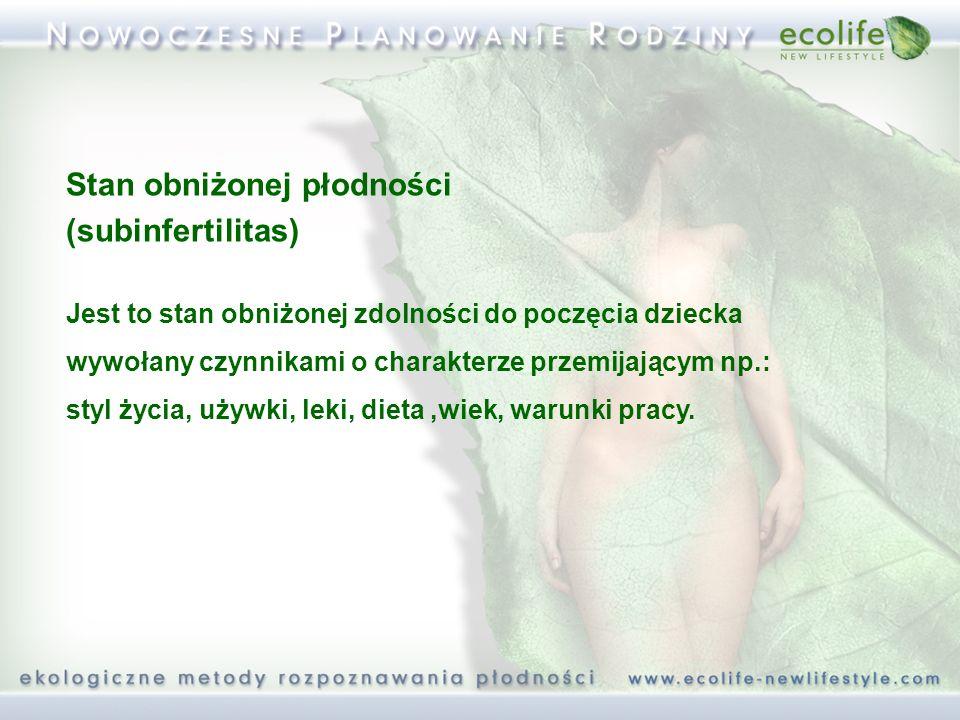 Stan obniżonej płodności (subinfertilitas)