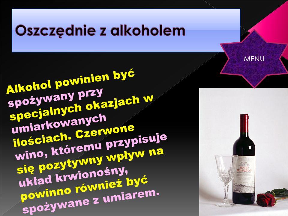 Oszczędnie z alkoholem