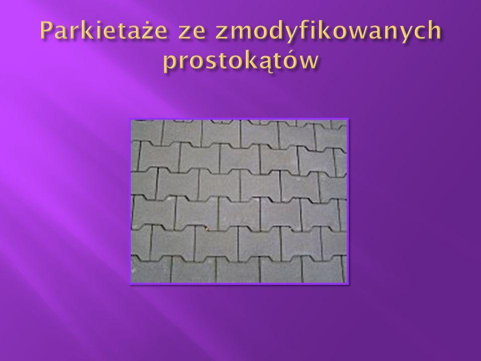 Parkietaże ze zmodyfikowanych prostokątów