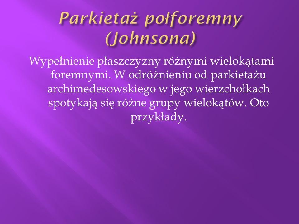 Parkietaż połforemny (Johnsona)