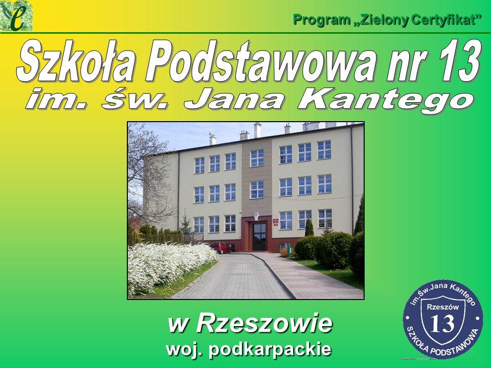Szkoła Podstawowa nr 13 w Rzeszowie woj. podkarpackie