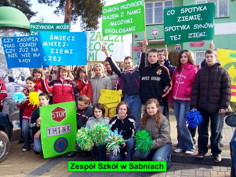 Zespół Szkół w Sabniach