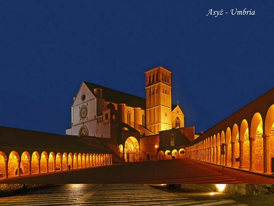Asyż - Umbria Basilica of San Francesco d Assisi, Assisi