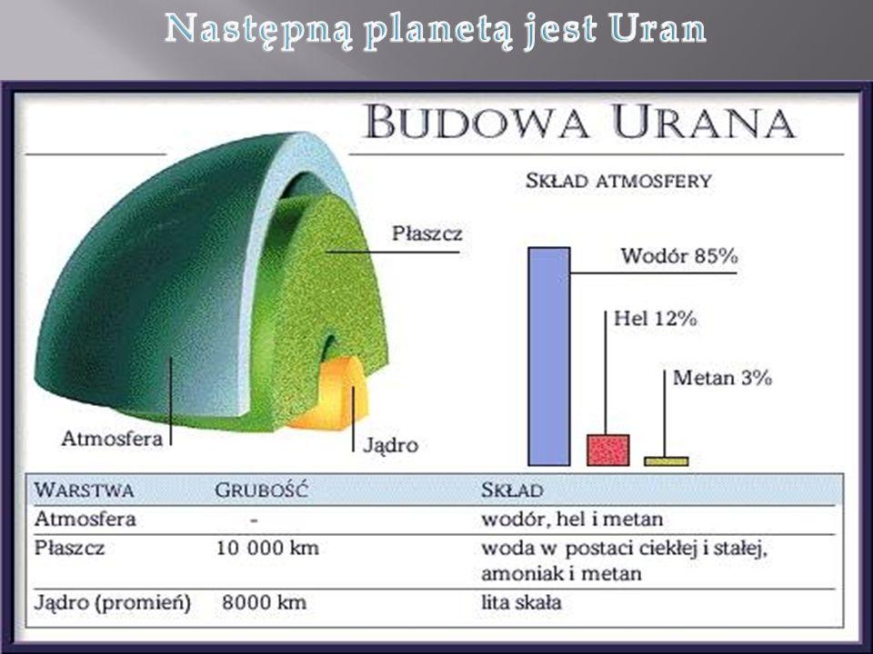 Następną planetą jest Uran
