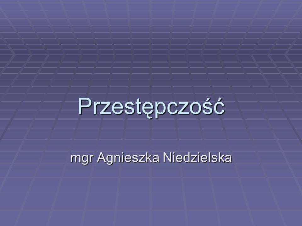 mgr Agnieszka Niedzielska