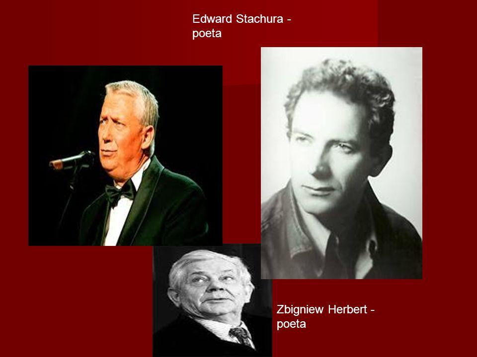 Edward Stachura - poeta