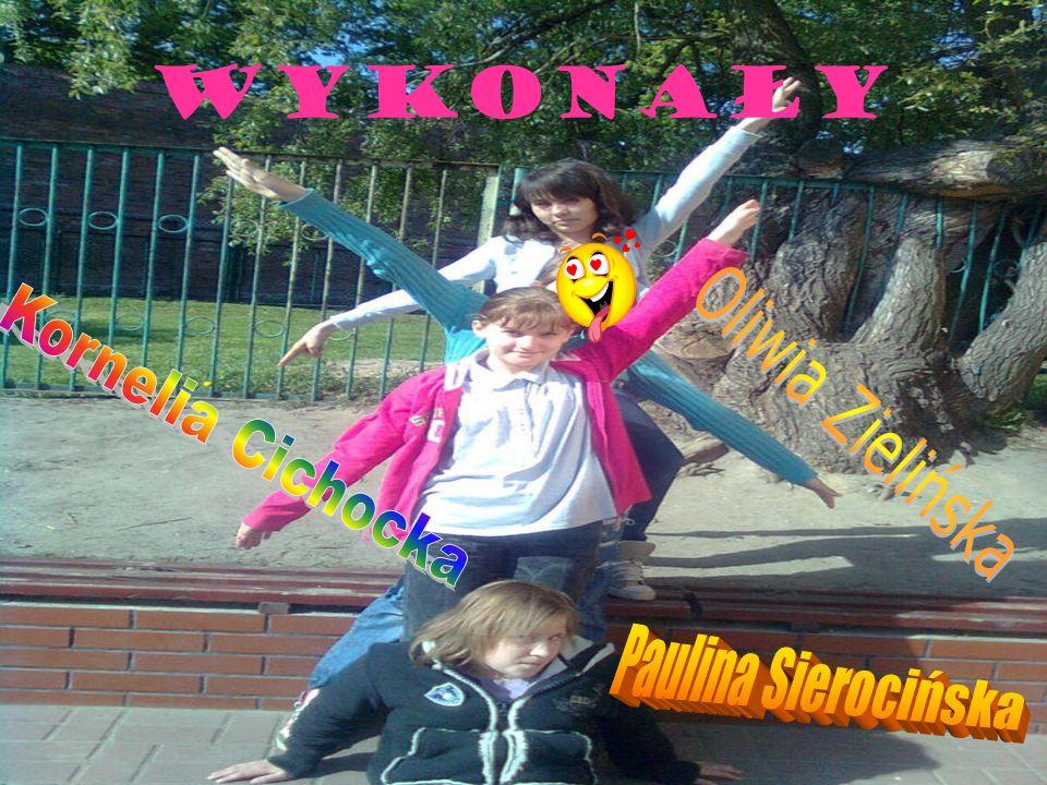 Wykonały Kornelia Cichocka Oliwia Zielińska Paulina Sierocińska
